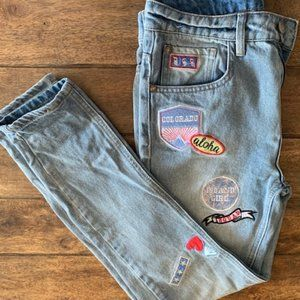 1991 Patched Jeans